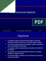 Socio Technical Systems