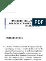 clase niveles de organizacion biolgica.ppt