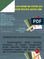 Pengolahan Limbah Dengan Metode Elektrokoagulasi