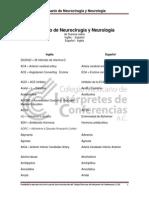 33 Glosario de Neurociruga y Neurologa Susana Lisker