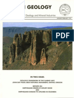 Oregon Geology Vol 61