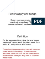 Power Supply Unit Design