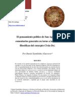 Pensamiento Politico de San Agustin