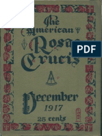 The American Rosae Crucis, December 1917