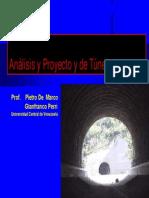 Tuneles UCV 2006