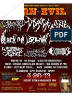 Carn Evil Fest w/ Disgorge and more