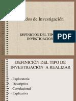 Metodos- Alcance de La Investigacion