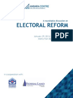 Angara Centre - Electoral Reform
