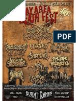 Bay Area Death Fest - Headliner