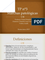 Marchas patológicas
