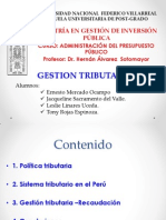 Gestion Tributaria - Exposicion (Final)