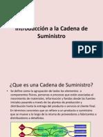 Sesion1.- Introducccion a Cadena de Suministro