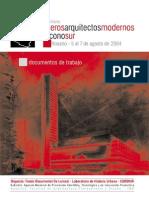Seminario Primeros Modernos en El Cono Sur - Rosario 2004