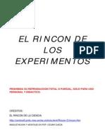 El Rincon de Los Experimentos