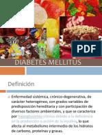 Diabetes mellitus imss