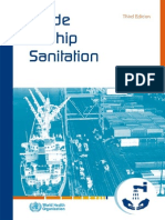 MLC Area 10 - Food & Catering - WHO - 2011-00-00 - Guide to Ship Sanitation - 3rd Edition