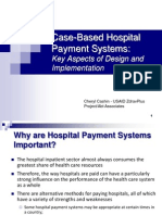 Casebased Hospital Payment