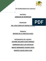 Reporte Practica Microcontrolador