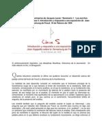 LACAN - Seminario 01 - Clase 05 - Sobre La Verneinung de Freud