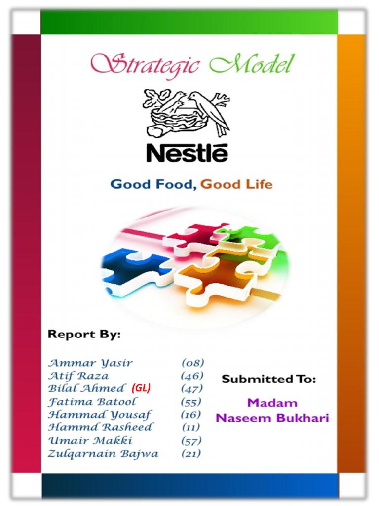 Nestle Strategic Model | Nestlé | Revenue