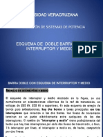 07_esquema de Doble Barra Con Interruptor y Medio