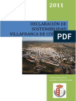 DECLARACION DE SOSTENIBILIDAD MUNICIPAL DE VILLAFRANCA DE CÓRDOBA.pdf