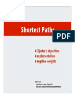 Shortest Paths Alogrithgms