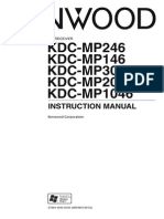 Kenwood KDC User Manual