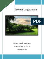 Cover Geologi Lingkungan