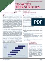 State-owned Enterprise Reform