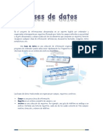 Bases de datos, introducción