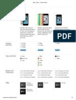 Apple - iPhone - Compare MApple - iPhone - Compare Modelsodels