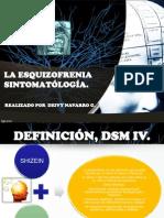 esquizpfrenia sintomatología