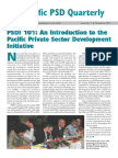 Pacific PSD Quarterly - November 2010