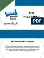 AFS Weltwarts Program