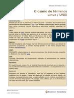 Glosario Linux