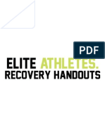 Elite Athletes Recovery Handout