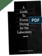 Freeze Drying Guide