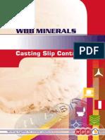 Casting Slip Booklet