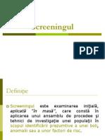 Screening Ul
