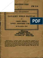 Fm 2-6-1943_cavalry Field Manual - Crew Drill, Light Armored Car m8_dec_1943