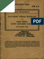 Fm 2-6-1943_cavalry Field Manual - Crew Drill, Light Armored Car m8_dec_1943
