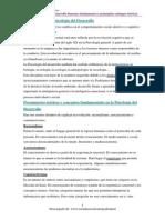 Psicología del desarrollo. 1º grado