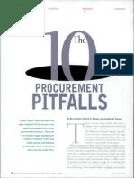 10 Procurement Pitfalls