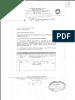 Surat Arahan Perubahan RMT Mulai 01 Januari 2014