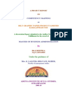 TOOLS FOR DEVELOPING COMPETENCIES O Literature Review