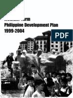 Medium-Term Philippine Development Plan 1999-2004