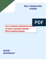 Master2 - DFE - 04 - Dynamique Des Gaz