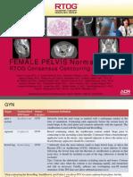 Female Pelvis Normal Tissue Rtog