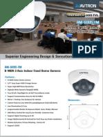 Avtron Dome CCTV Camera AM-6005-FM